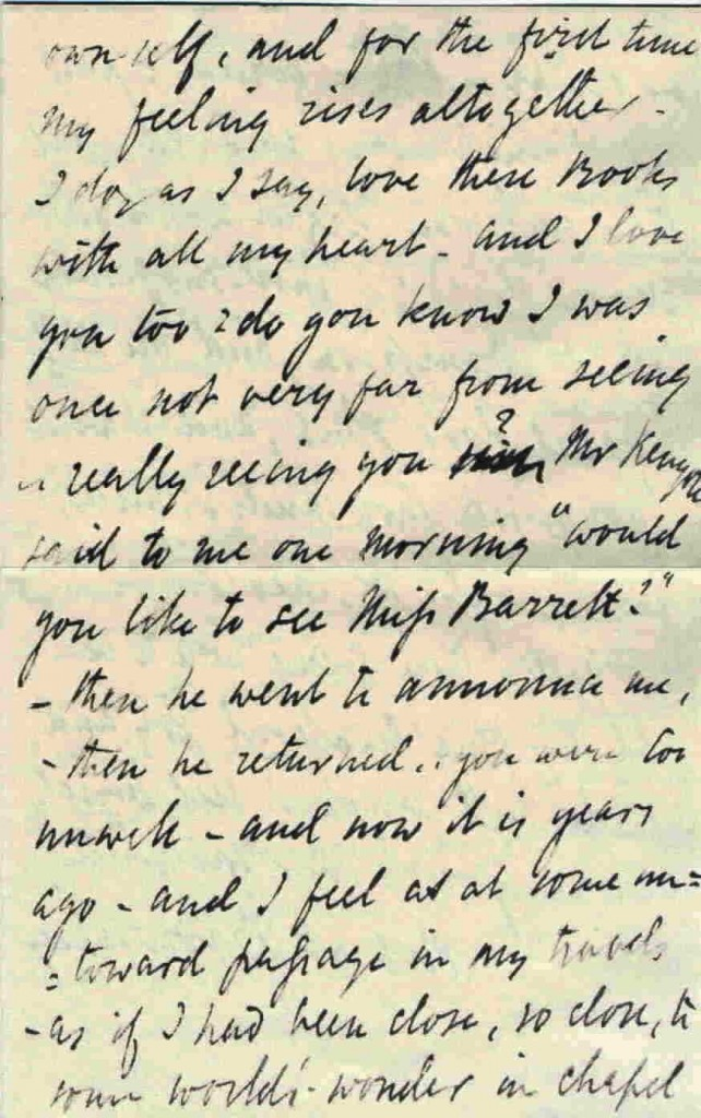 Lovers Notes The Letters Of Elizabeth Barrett And Robert