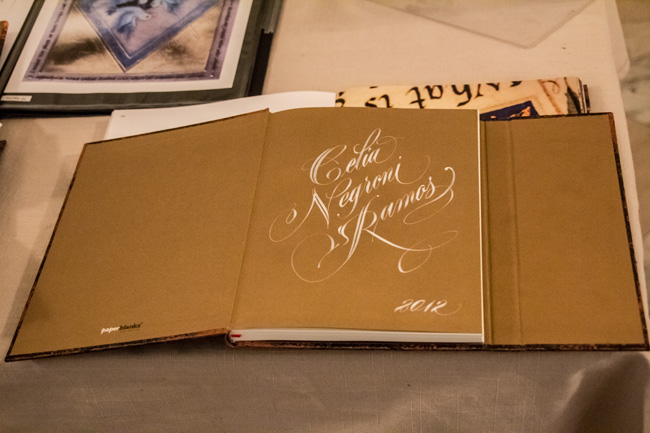 Paperblanks Calligraphy Event