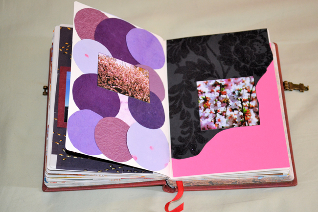 A Peek Inside Kendras Scrapbook Endpaper The Paperblanks Blog