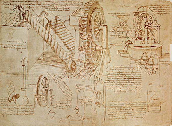 Looking Through Da Vinci   s Notebooks  The Codex Atlanticus