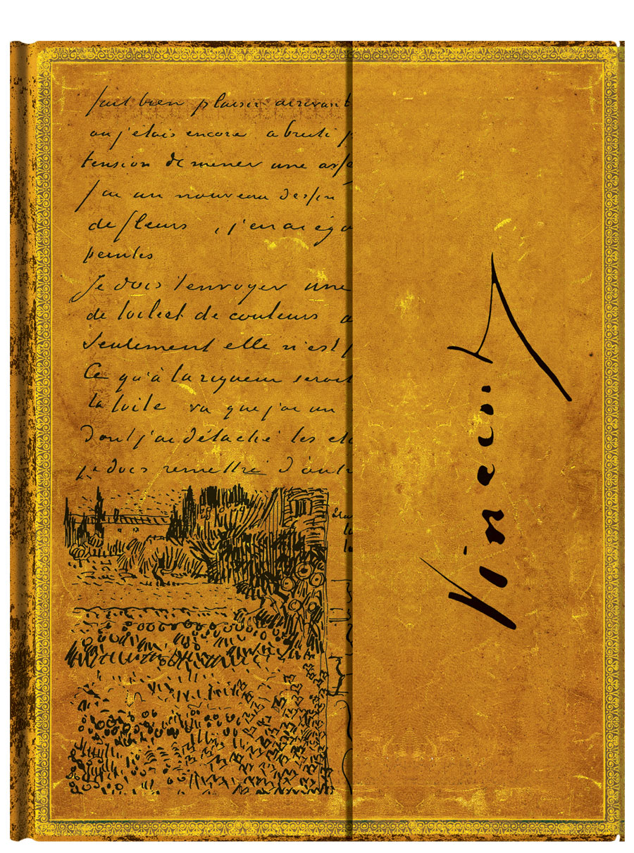 From Handwritten Letter To Paperblanks Book Van Gogh