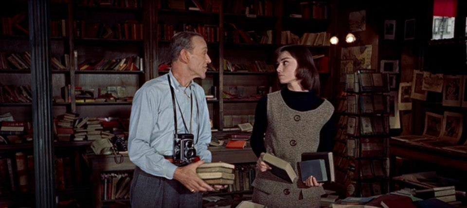 Our Favourite Movie Bookshops: Funny Face | Endpaper: The ...