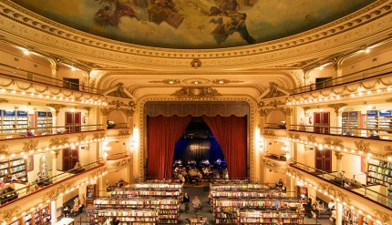 El Ateneo, a downtown Buenos Aires theater converted into a bookstore