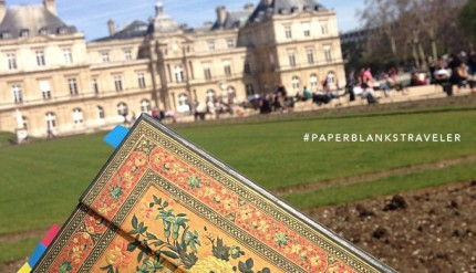Paperblanks Traveler - Luxembourg Gardens, Paris