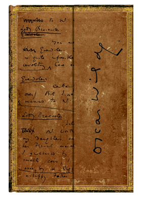 Paperblanks' Oscar Wilde, The Importance of Being Earnest journal