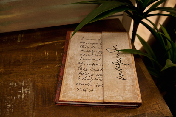 Gandhi, Right Against Might; Embellished Manuscripts collection