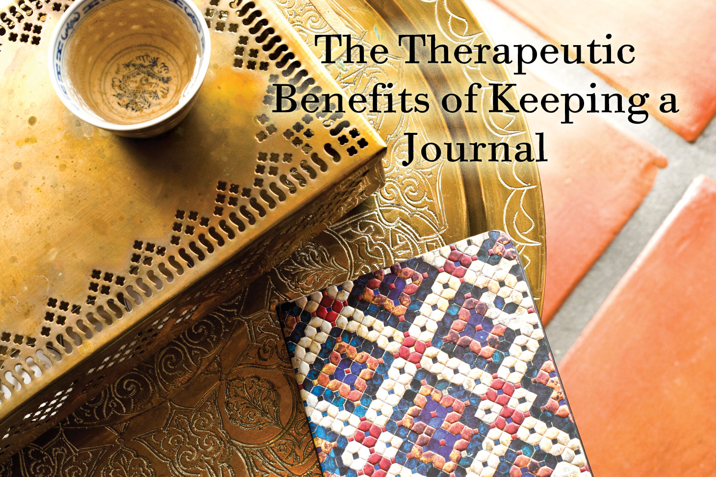 Therapeutic Benefits of Keeping a Journal