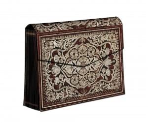 1208-5 - Stitched Splendour - Rosa - Accordion Box