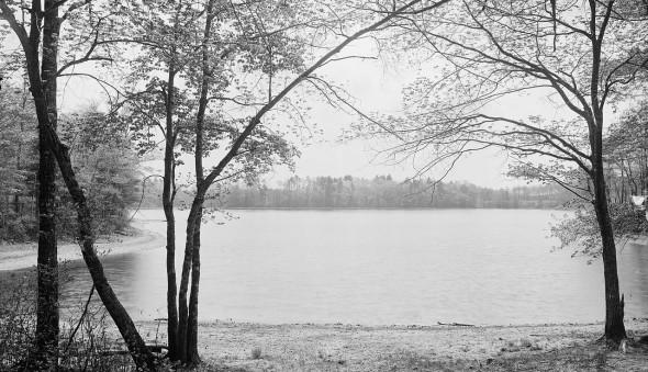 Thoreau's Cove, Concord, Massachusetts. (C) Detroit Publishing Co.