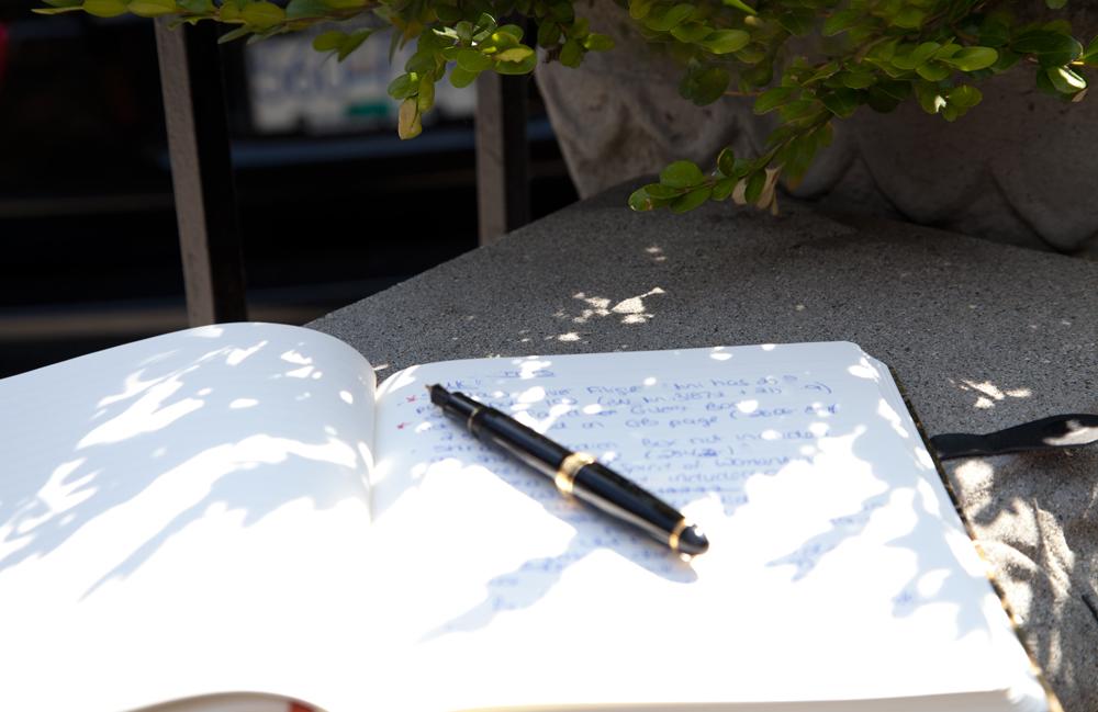 Assorted Journals - Open Book