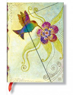 1142-2 - Laurel Burch - Whimsical Creations -Hummingbird - Midi
