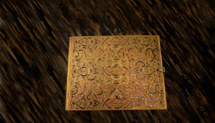 Gold Inlay - Guest Book