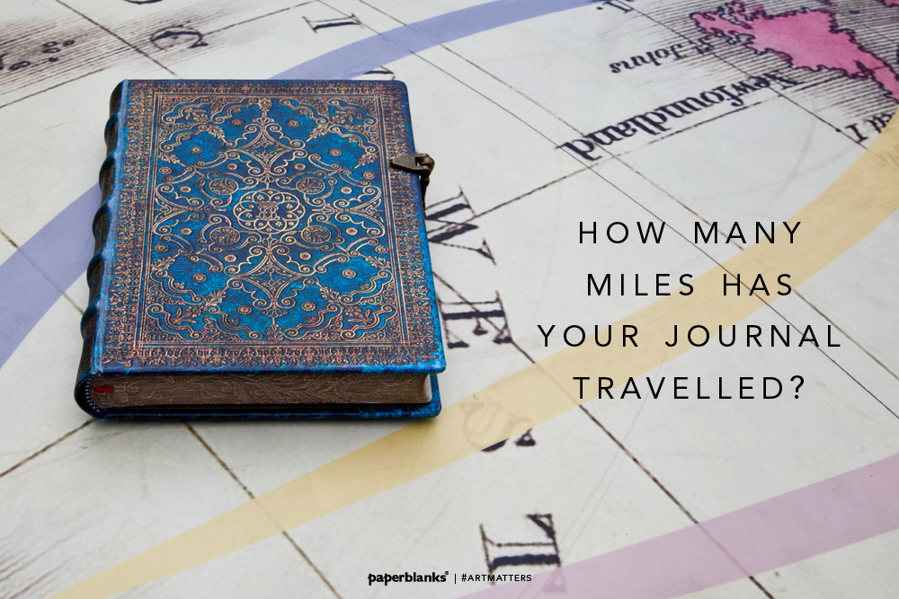 How Many Miles Has Your Journal Travelled