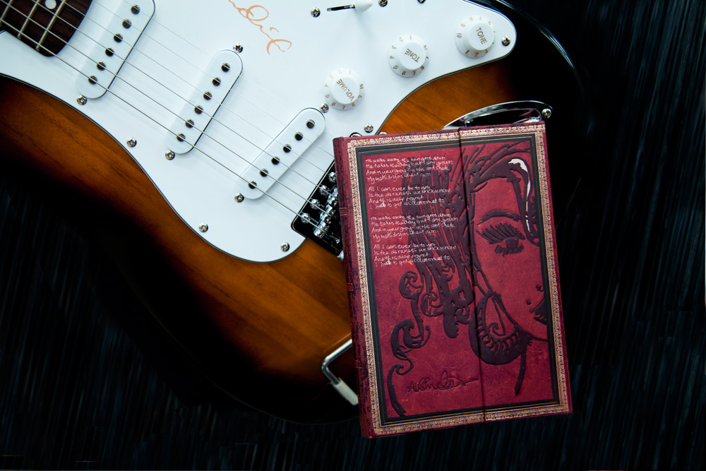 Embellished Manuscripts - Amy Winehouse - Guitar