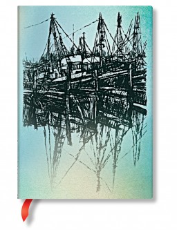 3177-2 - 3178-9 - Alistair Bell - Boats and Reflections - Midi
