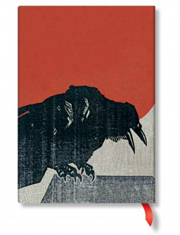 3179-6 - 3180-2 - Alistair Bell - Crow with Red Sun - Midi - Back Cover