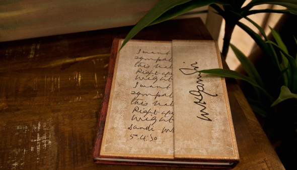 Embellished Manuscripts - Ghandi, Right Against Might