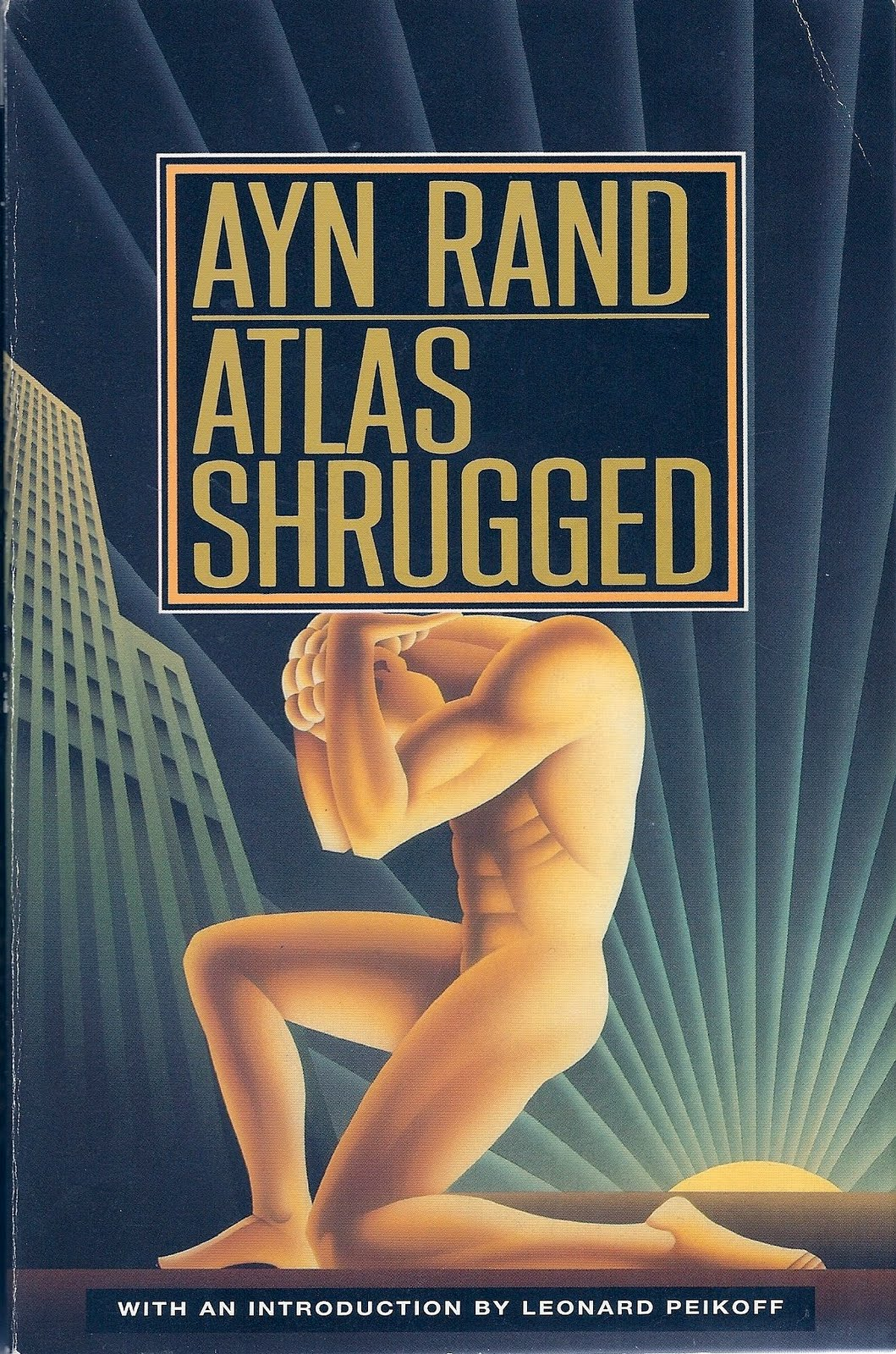 rand Atlas Shrugged Cover