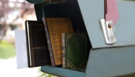 Assorted Books - Mailbox