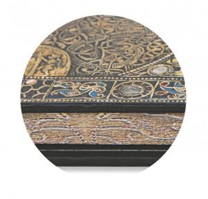 Lindau Gospels - Grande - Book edge print