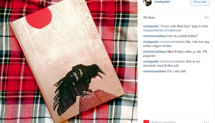 Fav Photo 2015 Crow with Red Sun