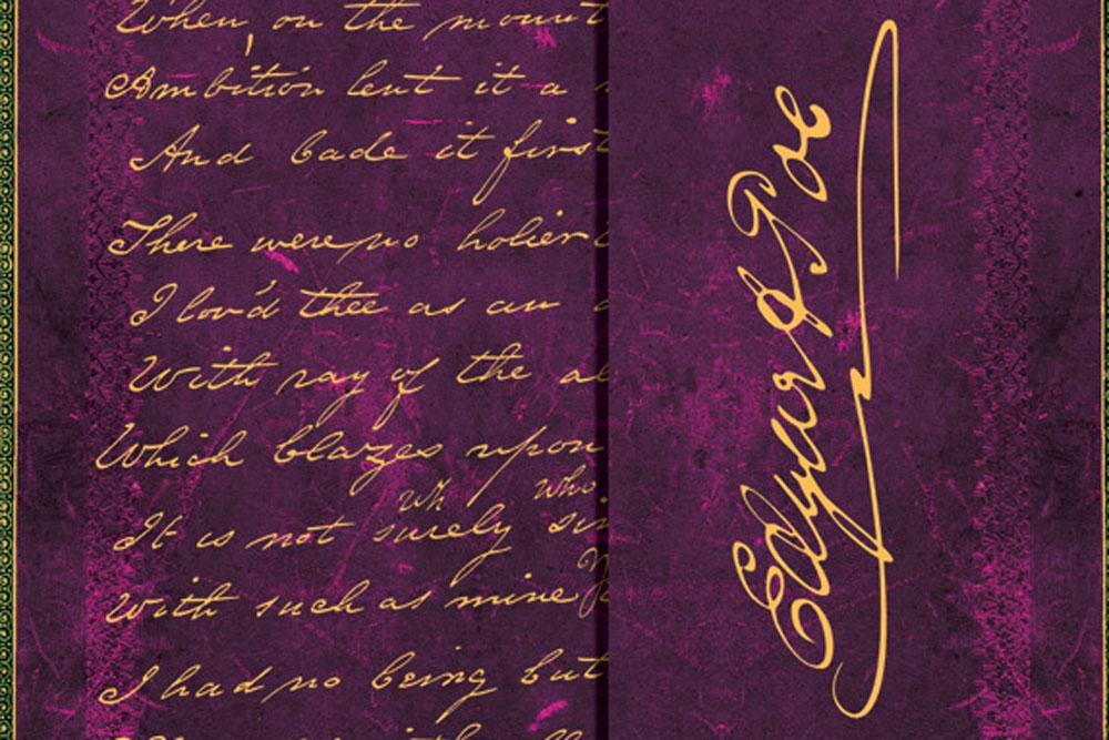 1402-7---Embellished-Manuscripts---Poe,-Tamerlane---Ultra