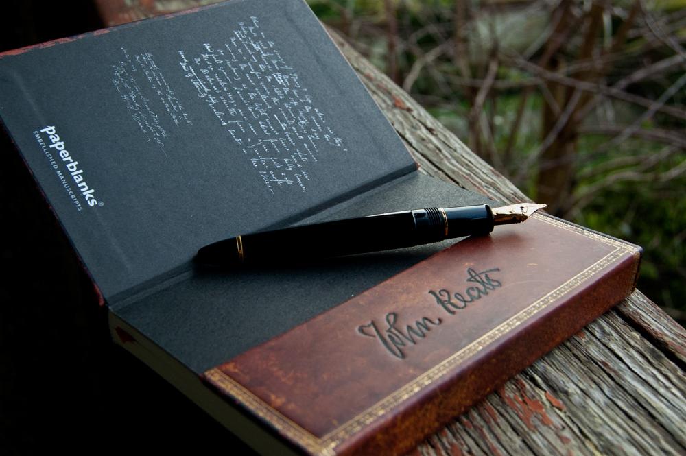 Embellished Manuscripts - Keats - End Paper