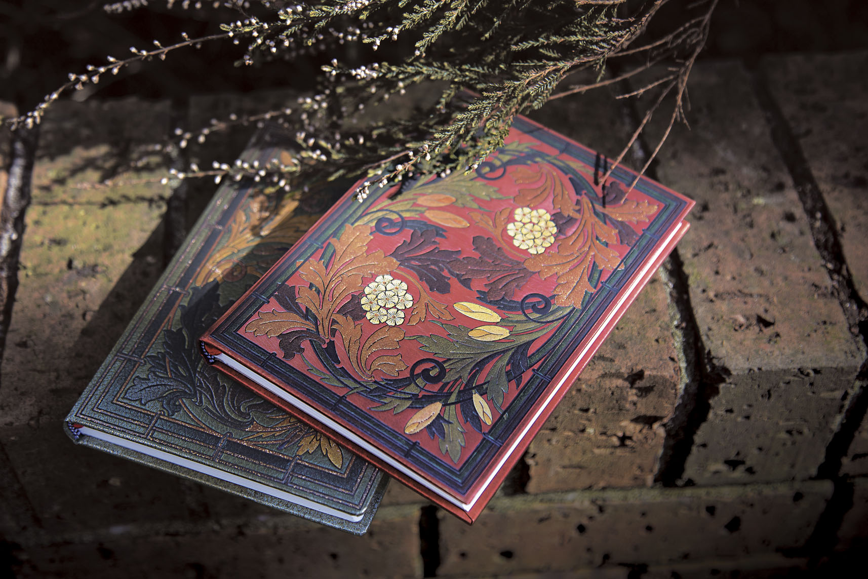 Autumn Symphony Cadenza and Allegro Reproducing two bookbindings designed by Michel