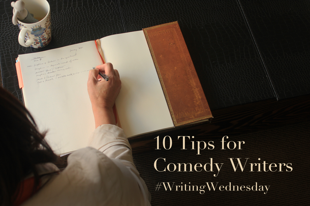 comedy writing tips 10-step humor system to get people's attention and make them laugh - for presenters, writers, business people and sales.
