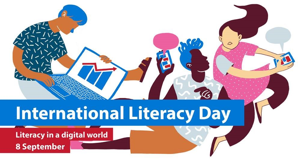 International Literacy Day - September  08  IMAGES, GIF, ANIMATED GIF, WALLPAPER, STICKER FOR WHATSAPP & FACEBOOK