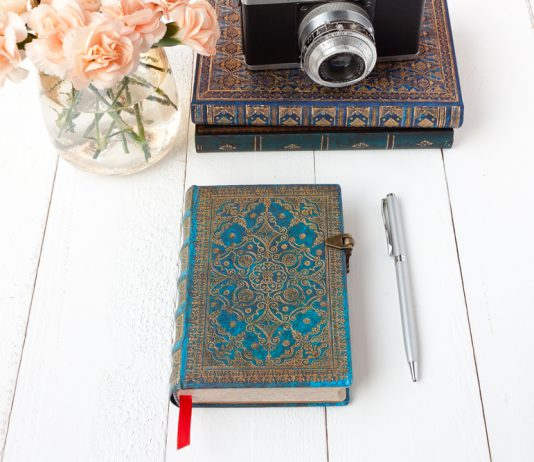 Paperblanks azure journal notebook