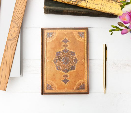 Paperblanks journal notebook, Safavid design