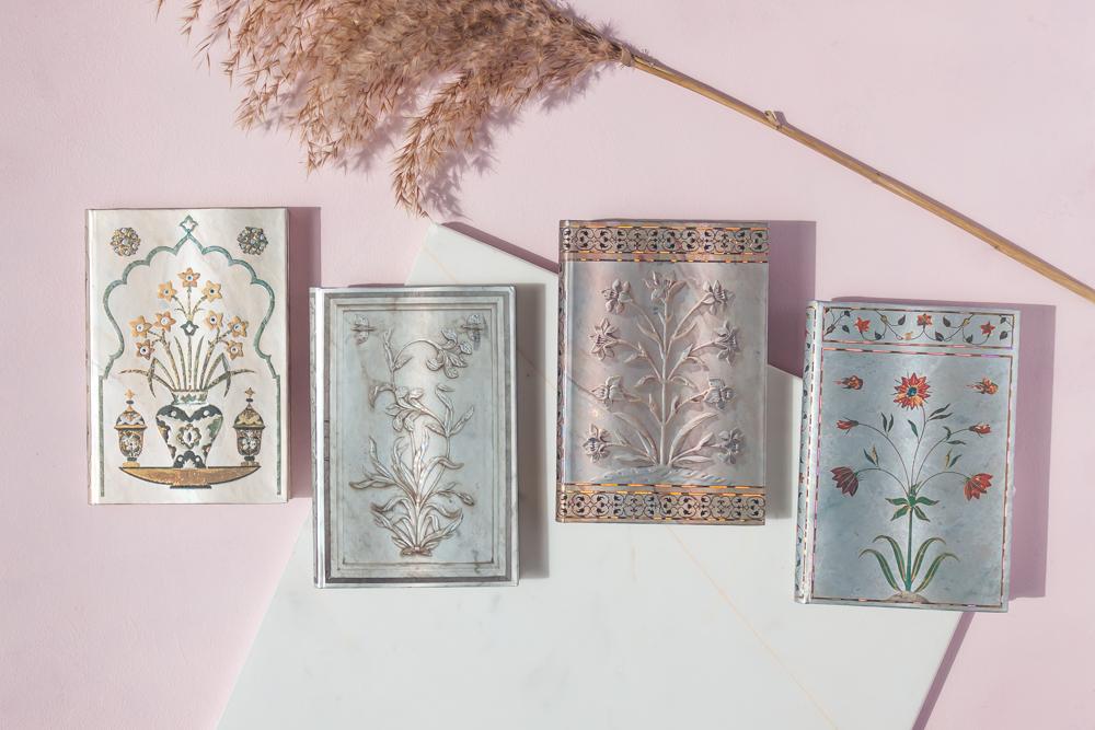 Paperblanks Taj Mahal Flowers journal series