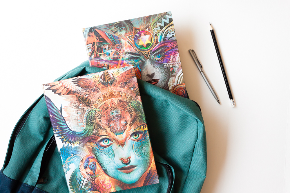 Paperblanks Android Jones Collection journals ready for back to school.