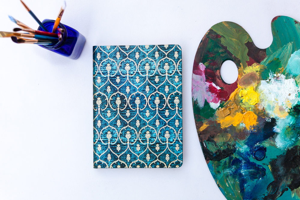 Paperblanks Blue Velvet Journal Design