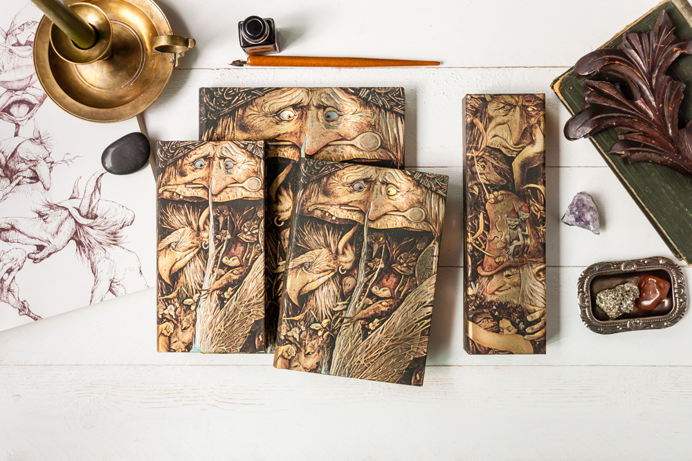 Paperblanks Brian Froud's Faerielands stationery series.