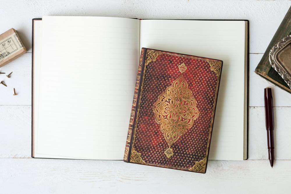 Paperblanks Golden Trefoil journals