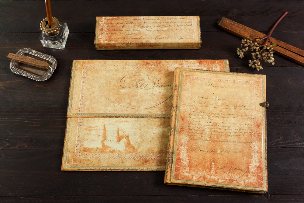 Paperblanks Dumas' 150th Anniversary Special Edition stationery set