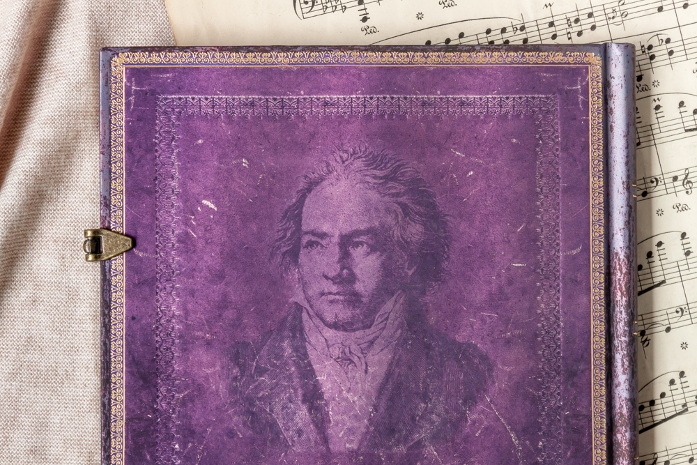 Beethoven's 250th Birthday Special Edition journal back cover