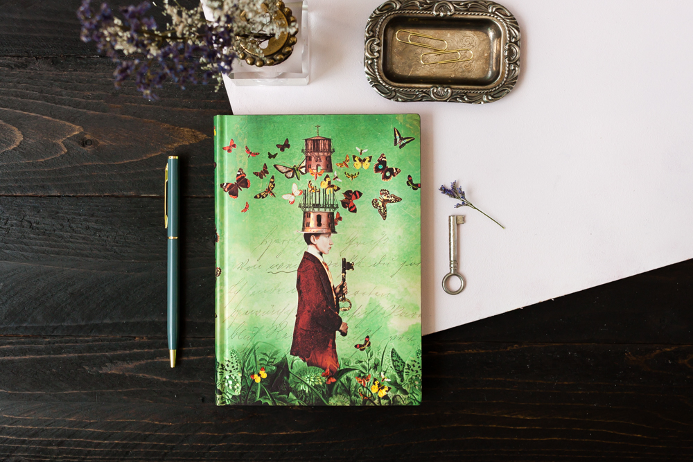 Paperblanks Dreamscapes notebook featuring art by Catrin Welz-Stein