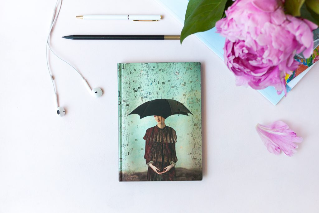 Paperblanks Wordscapes notebook featuring art by Catrin Welz-Stein